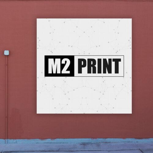 plakat print plastik udendørs