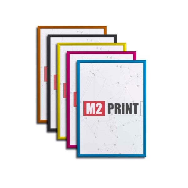 Klikrammer i farver 50 x 70 cm