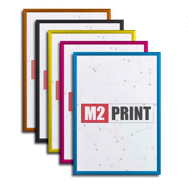 Farvet klikrammer 70 x 100 cm